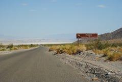 Nationell sylt för Mojave Arkivbild