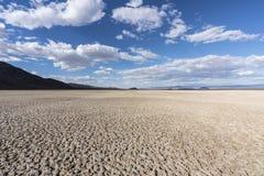 Nationell sylt för Mojave torr sjö nära Zzyzx Kalifornien royaltyfria bilder