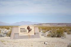 Nationell sylt Kalifornien för Mojave fotografering för bildbyråer