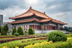Nationell teater av Taiwan i Liberty Square, Taipei, Taiwan Arkivbild