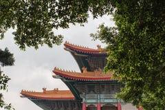 Nationell teater av Taiwan i Liberty Square, Taipei, Taiwan Royaltyfri Fotografi