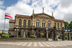 Nationell teater i San Jose - Costa Rica fotografering för bildbyråer