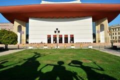Nationell teater Ion Luca Caragiale, Bucharest Royaltyfri Bild