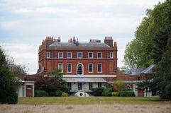 nationell test uk för buskigt huslaboratorium Royaltyfri Bild
