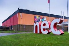 Nationell utställningmitt Arkivbild