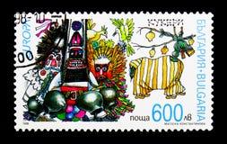 Nationella festivaler och dagar Europa C E P T 1998 - Festmåltid- och festivalserie, circa 1998 royaltyfria foton