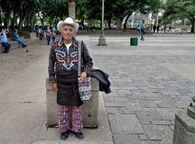 Nationella kläder av landskapet av Solola Royaltyfria Bilder