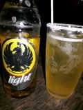 Nationellt öl av Costa Rica royaltyfri foto
