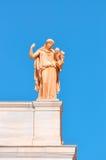 Nationellt arkeologiskt museum i Aten, Grekland. Skulptur på Arkivbilder