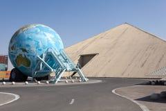 Nationellt auto museum för emirater i Abu Dhabi Royaltyfri Bild