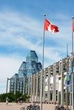 Nationellt galleri av Kanada i Ottawa Fotografering för Bildbyråer