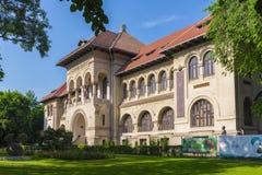 Nationellt geologimuseum i Bucharest, Rumänien Royaltyfri Fotografi