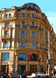 Nationellt hotell Fotografering för Bildbyråer