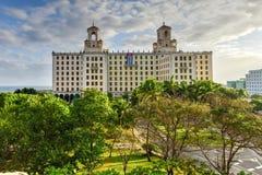 Nationellt hotell - havannacigarr, Kuba Royaltyfri Fotografi