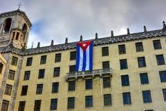 Nationellt hotell - havannacigarr, Kuba Royaltyfri Foto