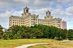 Nationellt hotell - havannacigarr, Kuba Arkivbilder