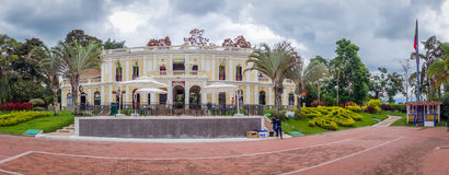 NATIONELLT KAFFE PARKERAR, COLOMBIA, härlig vit Royaltyfria Foton