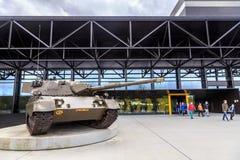 Nationellt militärt museum, Nederländerna Arkivfoto