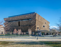 Nationellt museum av afrikansk amerikanhistoria och kultur - Washington, D C , USA arkivfoton