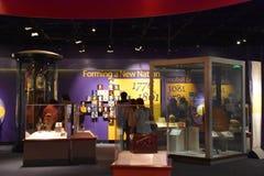 Nationellt museum av amerikansk historia i Washington, DC fotografering för bildbyråer
