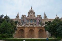 Nationellt museum av Catalan visuell konst Royaltyfri Foto