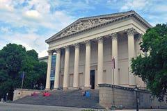 Nationellt museum av den Budapest staden, Ungern Arkivfoton