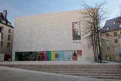 Nationellt museum av historia och konst i Luxembourg-stad Arkivbild
