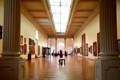 Nationellt museum av konster i Rio de Janeiro Arkivfoton