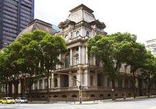 Nationellt museum av konster, Rio de Janeiro royaltyfria foton