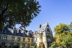Nationellt museum av medeltiden, Paris, Frankrike Royaltyfri Bild