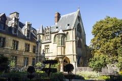 Nationellt museum av medeltiden, Paris, Frankrike Arkivbild