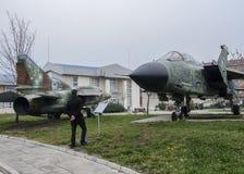 Nationellt museum av militär historia Sofia, Bulgarien Royaltyfria Foton