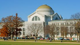 Nationellt museum av naturhistoria, naturhistoriamuseum som administreras av Smithsonian Institution royaltyfria foton