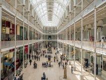Nationellt museum av Skottland i Edinburg Arkivfoton