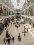 Nationellt museum av Skottland i Edinburg Royaltyfri Bild