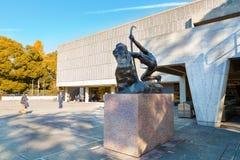 Nationellt museum av västra konst i Tokyo, Japan royaltyfria foton