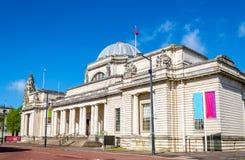 Nationellt museum av Wales i Cardiff Arkivbild