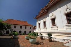 Nationellt museum för Somdet phranarai Arkivbild