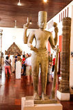 Nationellt museum i pagod för Cambodja självständighetsdagenRoyal Palace silver Arkivbild