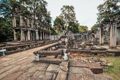 Nationellt museum i Phnom Penh - Cambodja Arkivbild