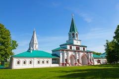 Nationellt museum Kolomenskoe. Moskva Royaltyfri Foto