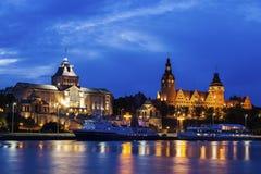Nationellt museum och maritimt universitet i Szczecin Royaltyfri Foto