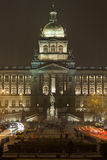 Nationellt museum Prague Royaltyfri Bild