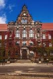 Nationellt museum, Wroclaw Arkivfoton