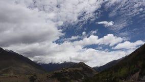 Nationellt sceniskt område av berget för fyra flickor stock video