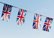 Nationellt teckenbegrepp för brittisk flagga Arkivbilder
