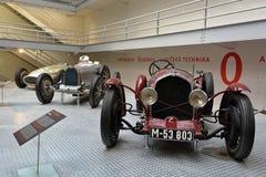 Nationellt tekniskt museum Prague - Wikov 7/28 sport, Royaltyfria Foton