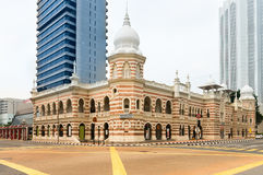 Nationellt textilmuseum i Kuala Lumpur arkivbilder