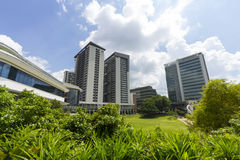Nationellt universitet av Singapore (NUS) Arkivfoton