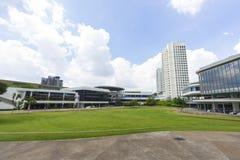 Nationellt universitet av Singapore (NUS) Arkivbild